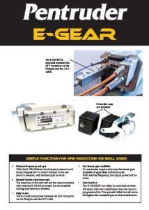 EGear H/F RPM Reducer PDF Data Sheet