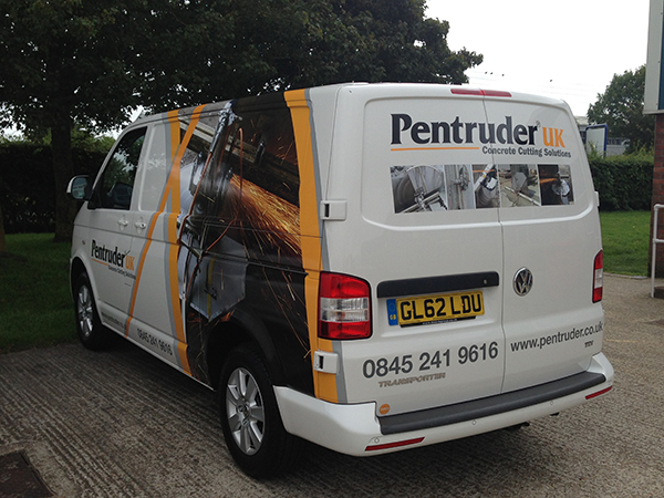 Pentruder UK's newly liveried van arrives