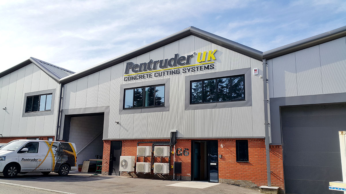 Pentruder UK new offices Polegate East Sussex