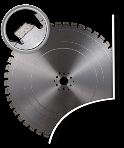 Pentruder Diamond Wall Saw Blade