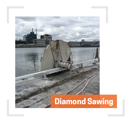 Diamond Sawing