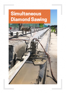 Simultaneous Diamond Sawing